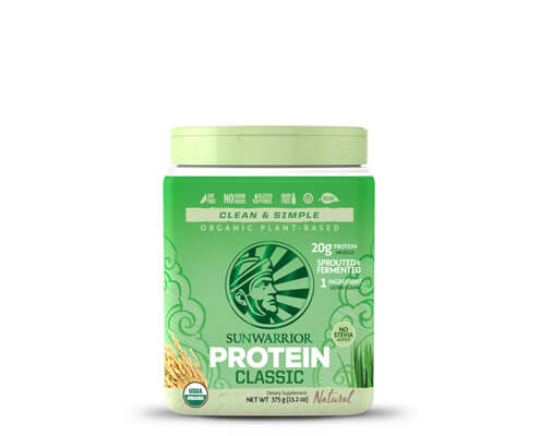 sunwarrior classic protein proteine di riso in polvere