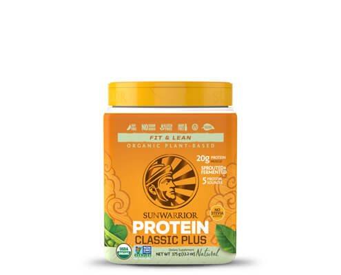 sunwarrior classic plus proteine vegetali in polvere