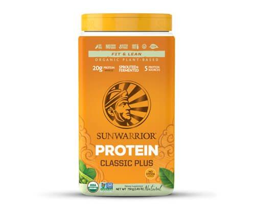 sunwarrior classic plus proteine vegetali