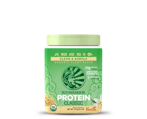 sunwarrior classic protein proteine in polvere vaniglia