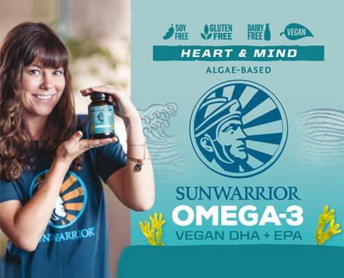 Sunwarrior omega3 vegano