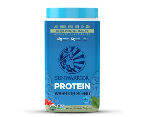sunwarrior warrior blend proteine in polvere
