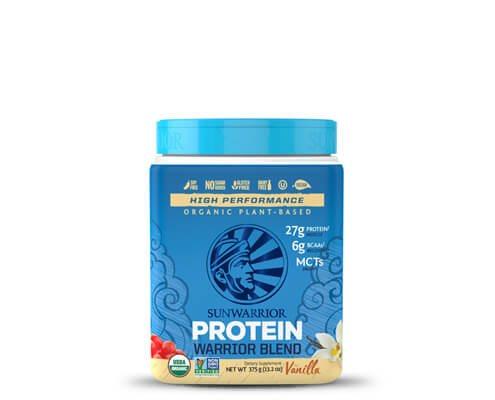 sunwarrior warrior blend vaniglia mocha miscela proteine vegetali in polvere