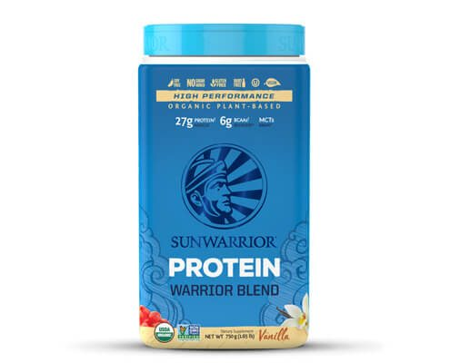 sunwarrior warrior blend proteine vegetali in polvere vaniglia